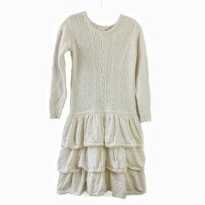 Hanna Andersson cable knit  sweater dress